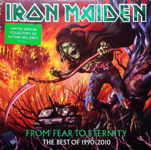 Iron Maiden ‎- From Fear To Eternity: The Best Of 1990-2010 (Triple LP) (Picture Disc) (M/M) (Sld)